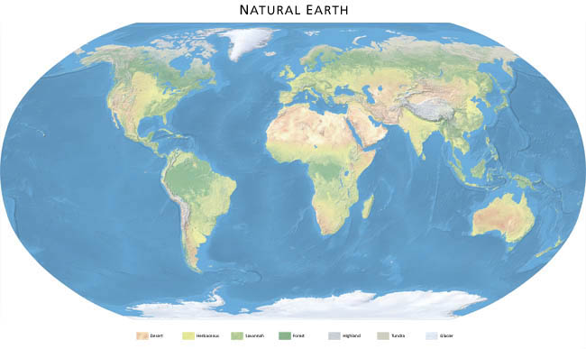 Download Natural Earth